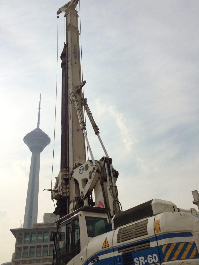 پروژه مترو برج میلاد